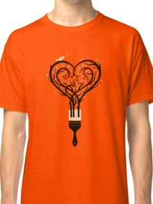 Paint your love song Classic T-Shirt