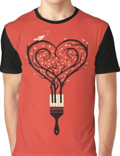 Paint your love song Graphic T-Shirt