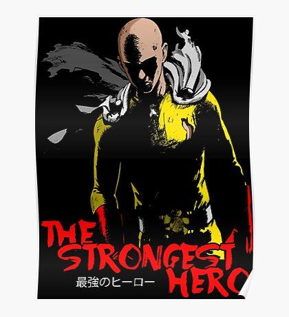 Saitama Anime Manga Shirt Poster