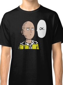 Saitama Ok Anime Manga Shirt Classic T-Shirt
