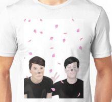 Cherry Blossom Dan and Phil (AmazingPhil and danisnotonfire) Unisex T-Shirt