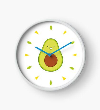Shiny Avocado Clock