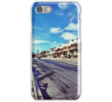 Winter Sun in West End Toronto iPhone Case/Skin