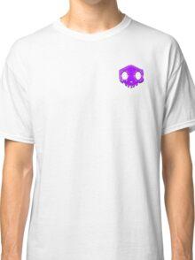 Purple Sombra Faded Skull Classic T-Shirt