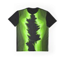 Green and black fractals Graphic T-Shirt