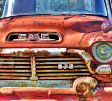 Rusty GMC Sticker