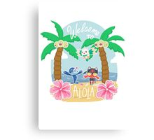 Welcome To Alola! Canvas Print