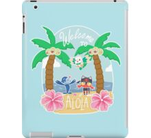 Welcome To Alola! iPad Case/Skin