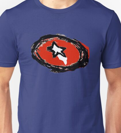 Minimalist Captain America Shield Unisex T-Shirt