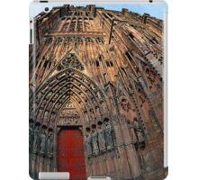 Strasbourg Cathedral Portal, France iPad Case/Skin