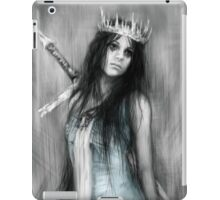 Her Heavy Crown iPad Case/Skin