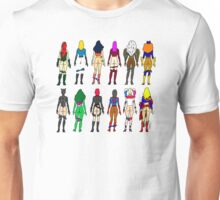 Superheroine Butts LV Unisex T-Shirt