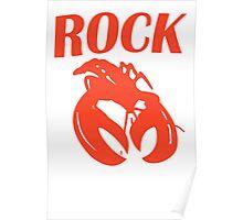 B52 Rock Lobster Retro Black T-shirt Sz S M L XL Poster