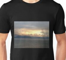 Storm Over the North Lake Unisex T-Shirt