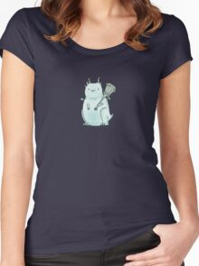 Derpy Demon Women's Fitted Scoop T-Shirt