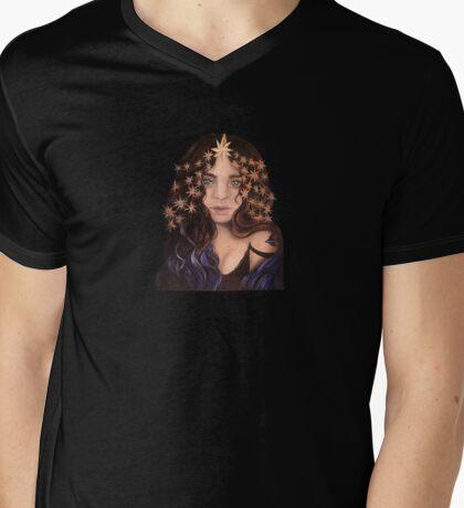 Star Gazer  Mens V-Neck T-Shirt
