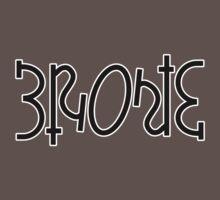 Bronte ambigram One Piece - Short Sleeve
