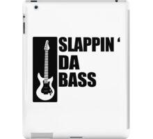 Bass Guitar Funny Music T-Shirt Slappin Da Bass T-Shirt Gifts for Dad Screen Printed T-Shirt Tee Shirt T Shirt Mens Ladies Womens Youth Kid iPad Case/Skin