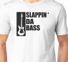 Bass Guitar Funny Music T-Shirt Slappin Da Bass T-Shirt Gifts for Dad Screen Printed T-Shirt Tee Shirt T Shirt Mens Ladies Womens Youth Kid Unisex T-Shirt