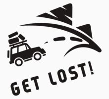 Road Trip Get Lost One Piece - Long Sleeve