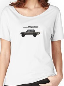Toyota Landcruiser 79 Dual Cab Women's Relaxed Fit T-Shirt