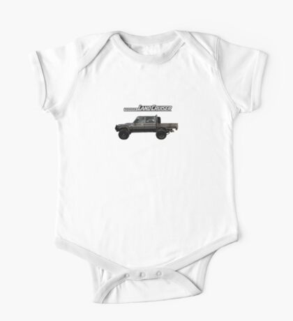 Toyota Landcruiser 79 Dual Cab One Piece - Short Sleeve
