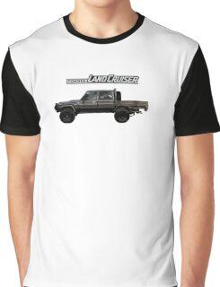 Toyota Landcruiser 79 Dual Cab Graphic T-Shirt