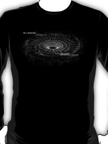 Infographic - Black Hole T-Shirt