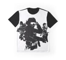 Swat Tactical Team Graphic T-Shirt