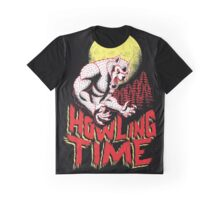 Howling Time Graphic T-Shirt