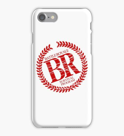 Battle Royale Survival Program Japanese Horror Movie T shirt iPhone Case/Skin