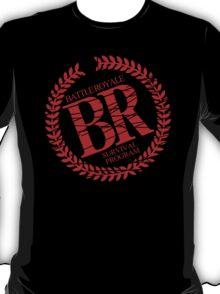 Battle Royale Survival Program Japanese Horror Movie T shirt T-Shirt