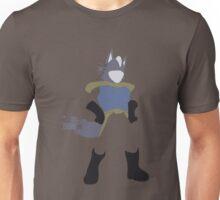 Pixel Silhouette: Wolf Unisex T-Shirt