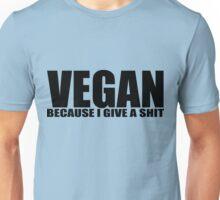 Vegan - black Unisex T-Shirt