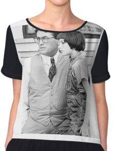 Atticus Finch and Scout Chiffon Top