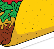 This is not a Taco Sticker