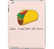 This is not a Taco iPad Case/Skin