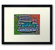 1948 cadillac front- full Framed Print