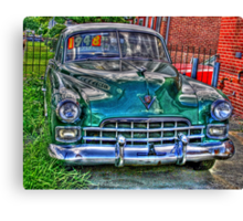 1948 cadillac front- full Canvas Print