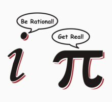 Be Rational Get Real T-Shirt Funny Math Tee Pi Nerd Nerdy Geek Shirt Hilarious by beardburger