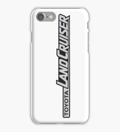 Landcruiser Logo Sideways iPhone Case/Skin