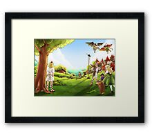William Tell and the Apple Framed Print