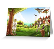 William Tell and the Apple Greeting Card