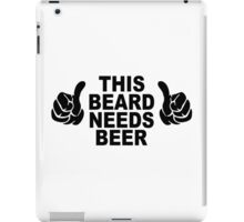 Beard t shirt funny t shirt beer tshirt cool shirt mens tshirt austin texas (also available on crewneck sweatshirts and hoodies) SM-5XL iPad Case/Skin