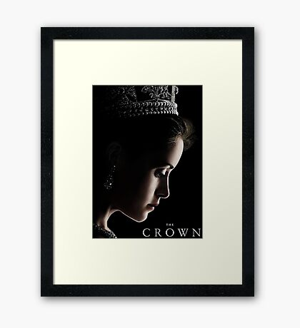 The Crown Tv Show Framed Print