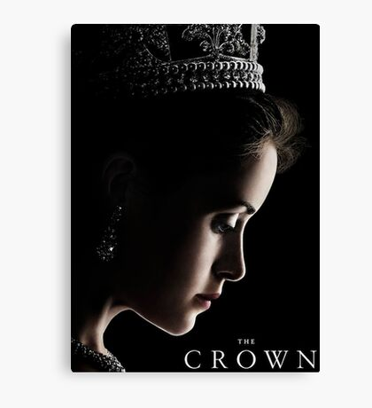 The Crown Tv Show Canvas Print