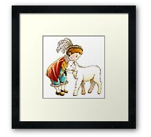 Prince Richard and his New Friend Framed Print