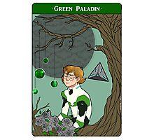 Green Paladin Photographic Print