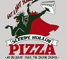 Sleepy Hollow Pizza by Robiberg
