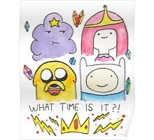 What Time Is It? Adventure Time! Poster